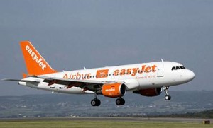 easyjet low cost airliner