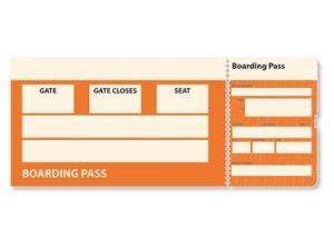 boardingkaart