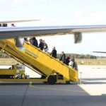 instappen ryanair vliegtuig